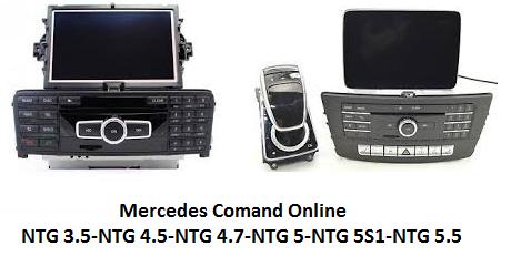 Mercedes Comand Online Donanım Yükseltme