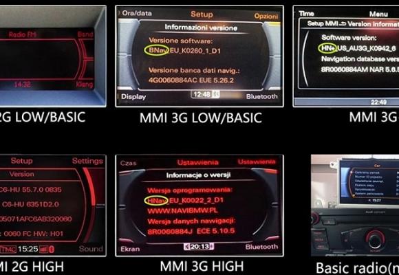 Audi MMI 3GP Sistem Teknik Özellikleri